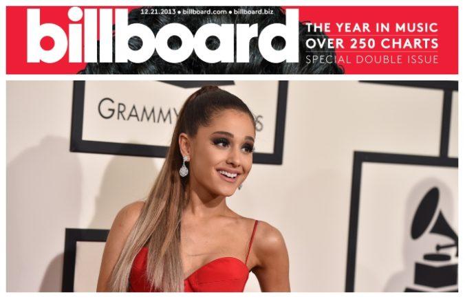 Magazín Billboard vyhlásil speváčku Arianu Grande za Ženu roka