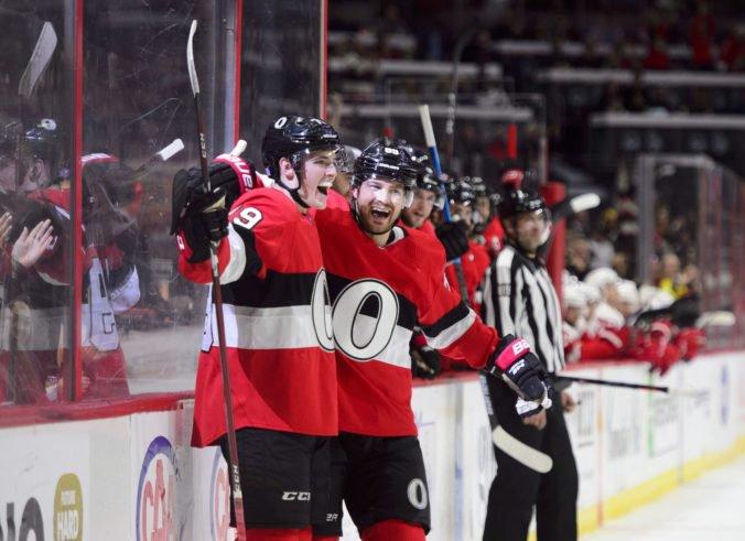 Video: Batherson v NHL napodobnil Demitru a zapísal sa do histórie Senators