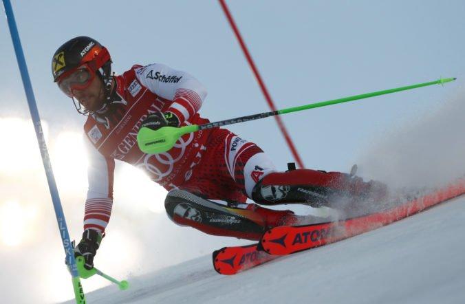 Famózny Marcel Hirscher víťazom slalomu v Levi, Adam Žampa nedokončil kolo