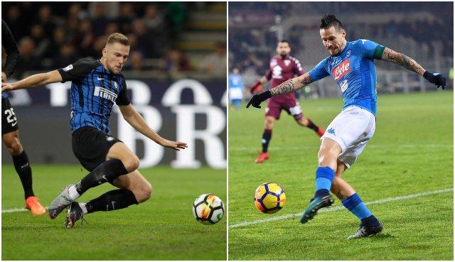 Marek Hamšík a Milan Škriniar sú nominovaní na ceny Gran Galá del Calcio