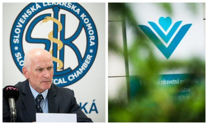 Vedenie VšZP podľa Slovenskej lekárskej komory zlyhalo, Kollár vyzýva na sociálny zmier