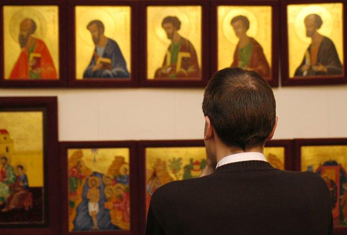 V priestoroch trnavskej radnice vystavili byzantské ikony, predstavujú Sväté písmo v obrazoch