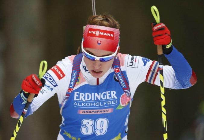 Skvelá Paulína Fialková prišla do cieľa vytrvalostných pretekoch v Pokljuke na štvrtom mieste