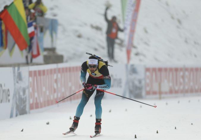 Video: Slováci v Pokljuke nebodovali, vytrvalostné preteky ovládol Fourcade