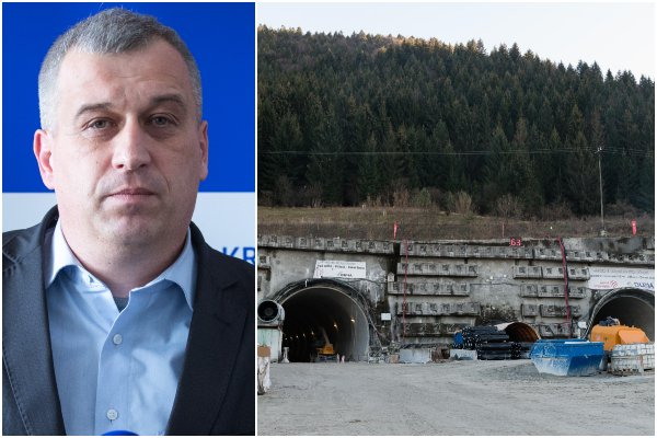 Za meškajúcu stavbu D1 s tunelom Višňové môže Smer-SD a exminister Počiatek, tvrdí KDH