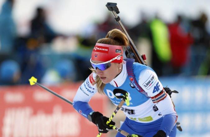 Paulína Fialková dosiahla ďalší výborný výsledok v Pokljuke, preteky vyhrala Mäkäräinenová