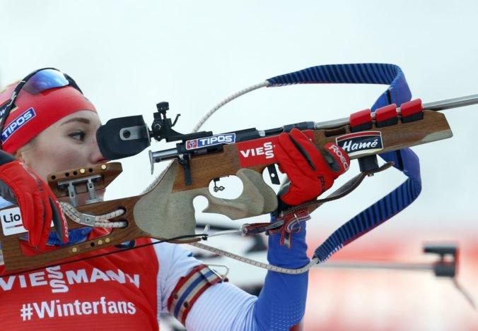 Biatlonistka Paulína Fialková dosiahla fantastické tretie miesto v stíhacích pretekoch v Pokljuke