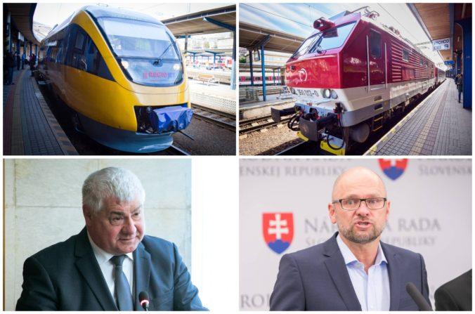 Minister Érsek chce so železnicami uzavrieť novú zmluvu, SaS má obavy zo zabetónovania monopolu