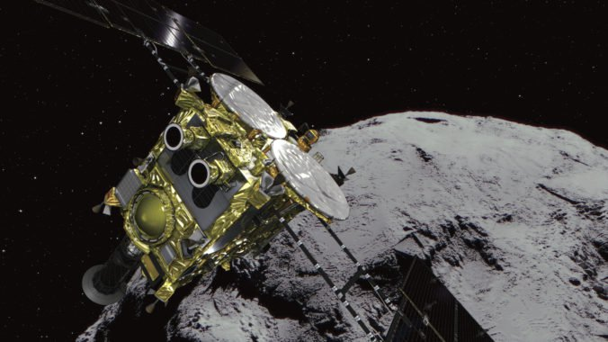 Japonská sonda Hajabusa 2 môže mať problém s pristátím na asteroide Ryugu