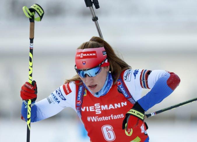 Skvelá Paulína Fialková je tretia vo Svetovom pohári, v Hochfilzene bola v Top 10 aj Kuzminová