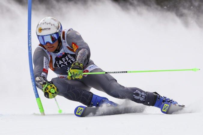 Druhé kolo obrovského slalomu bolo bez bratov Žampovcov, Hirscher si šiestykrát obhájil titul