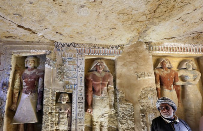 Foto: Archeológovia objavili 4 400 rokov starú hrobku v Egypte, patrila významnému kňazovi