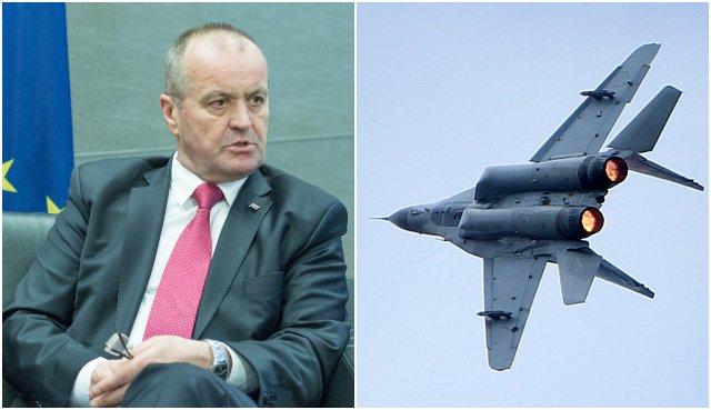Slovensko podľa Gajdoša príde o nadzvukové letectvo, ak nepredĺži zmluvu na stíhačky Mig-29