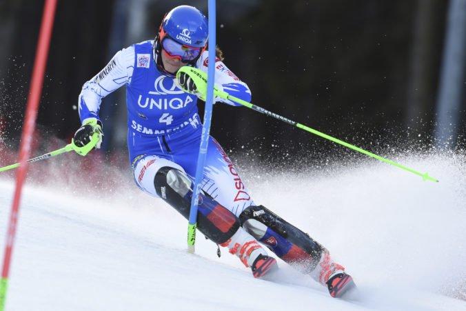 Vlhová nestačila na rivalku z USA a obsadila druhú priečku v prvom kole slalomu v Simmeringu
