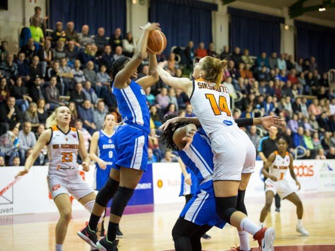 Basketbalistky Ružomberka začali play-off Európskeho pohára FIBA víťazstvom proti Krasnojarsku