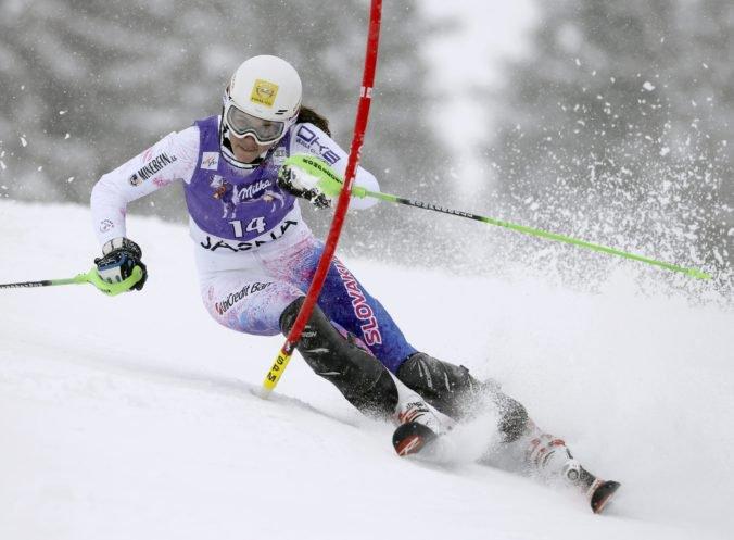 Vlhová je po prvom kole slalomu tretia, Schiffrinová jej ušla o sekundu a patrí jej prvenstvo