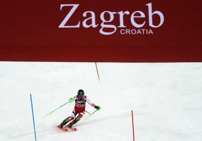 Hirscher v Záhrebe zvíťazil už piatykrát, Žampa urobil chybu a nepostúpil do druhého kola
