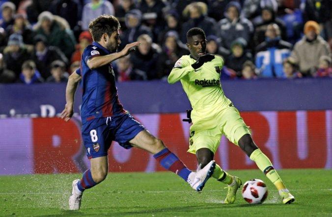 Barcelona bez Messiho zaváhala v Copa del Rey, na postup musí v odvete zvíťaziť