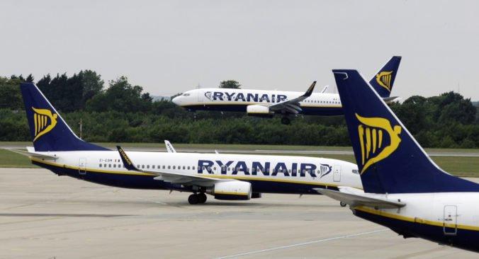 Ryanair pre štrajk leteckých dispečerov zrušil niekoľko letov do Bratislavy