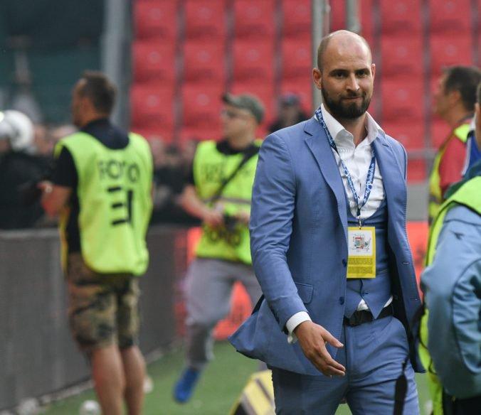 Niektoré veci ešte nefungujú na 100 percent, hovorí Kmotrík ml. po prvom zápase Slovana na novom štadióne