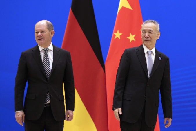 Čína a Nemecko budú užšie spolupracovať, navzájom si otvoria trhy bankovníctva a poisťovníctva