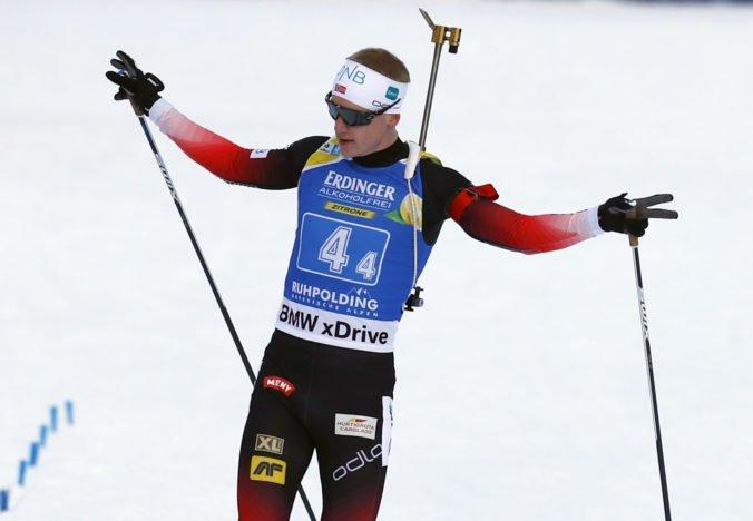 Nóri ovládli preteky štafiet mužov v Ruhpoldingu, Slováci si neudržali pozíciu v prvej desiatke