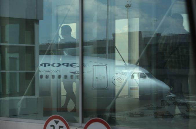 Opitý muž chcel uniesť lietadlo spoločnosti Aeroflot, muselo núdzovo pristáť