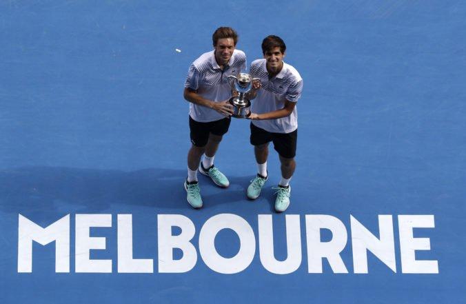 Mahut a Herbert zvíťazili vo finále štvorhry na Australian Open a zavŕšili kariérny Grandslam
