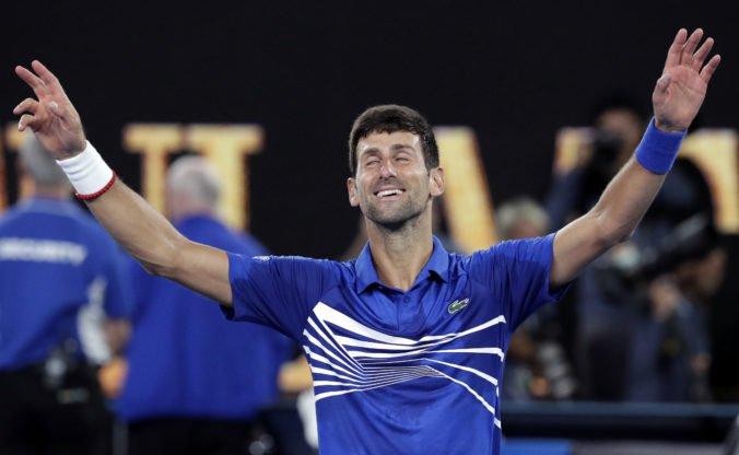 Prvotriedny a magický. Vládca Djokovič pozametal s Nadalom, hodnotia médiá úspech na Australian Open