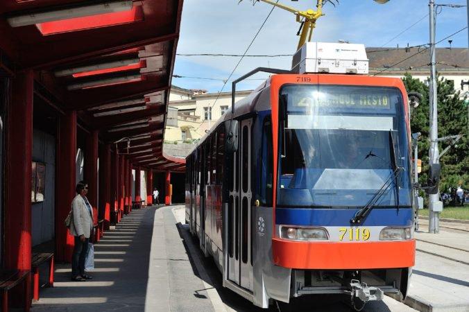 Na Hlavnú stanicu v Bratislave dočasne nepremávajú električky, nahradili ich autobusy linky X1