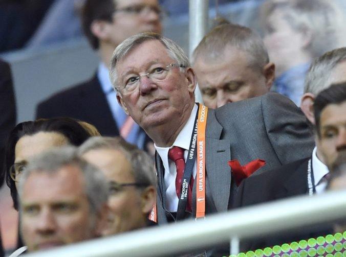Na lavičku Manchestru United sa vráti legendárny tréner Alex Ferguson