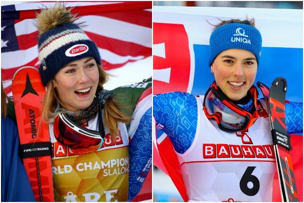 Vlhová skompletizovala medailovú zbierku a Shiffrinovej došiel kyslík, píšu média o slalome v Aare