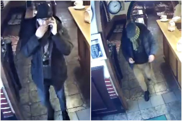 Foto: Zákazníkovi reštaurácie zmizli z bundy tisíce eur, hľadajú osoby z kamerových záznamov