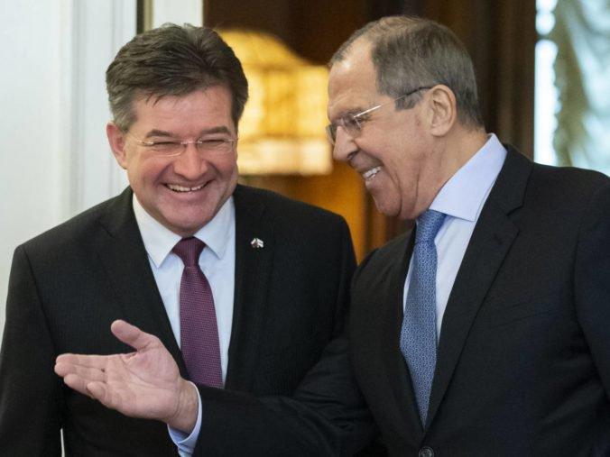 Minister Lajčák rokoval s Lavrovom, témou bola aj situácia na juhovýchode Ukrajiny