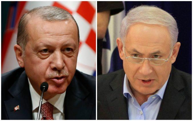 Erdogan nazval premiéra Netanjahua zlodejom a tyranom, ktorý zabíja palestínske deti