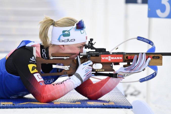 Nórska dvojčlenná miešana štafeta získala zlato na MS, Poliaková s Hasillom skončili predčasne