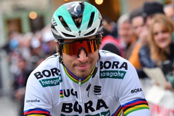 Sagan mal v 2. etape Tirreno-Adriatico technické problémy, Alaphilippe bojoval o triumf s van Avermaetom
