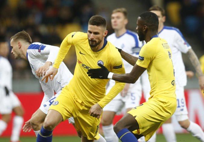 Video: Chelsea v Európskej lige nedala šancu Dynamu, Neapol postúpil napriek prehre