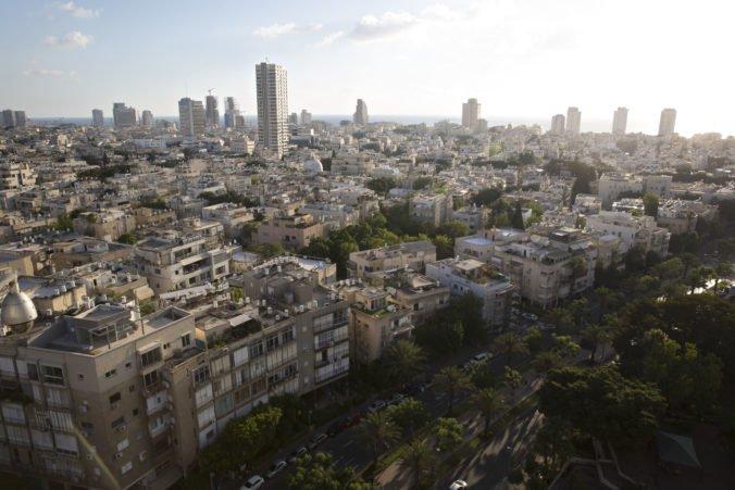 Video: Izraelský Tel Aviv vystrašili výstražné sirény pred leteckým útokom