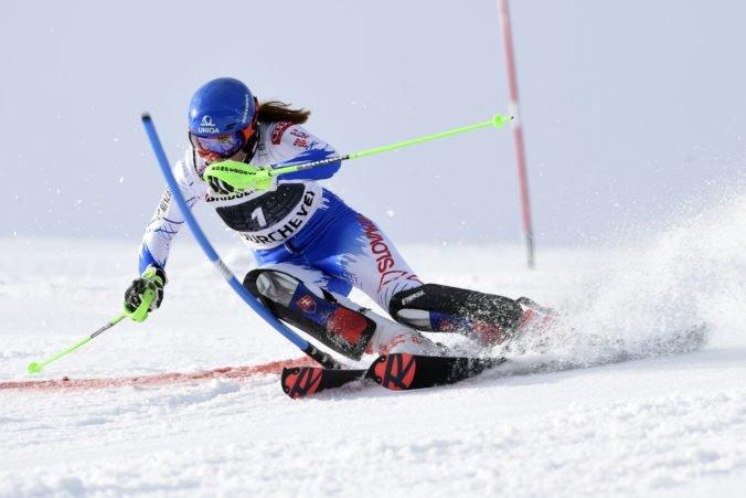 Skvelá Petra Vlhová má na dosah ďalšie pódiové umiestnenie v pretekoch Svetového pohára