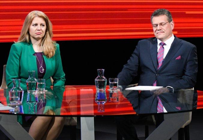 Čaputová sa vzdá funkcie v Progresívnom Slovensku, Šefčovič sa ohradil voči spájaniu jeho mena so Smerom
