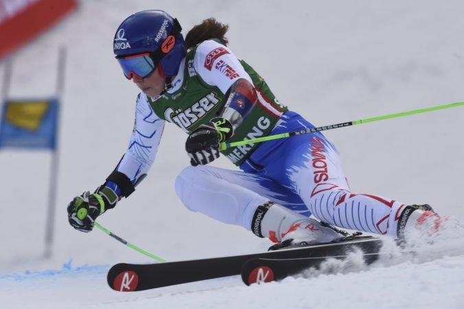 Vlhová má v Soldeu na dosah druhé pódium, prvé kolo obrovského slalomu vyhrala Shiffrinová