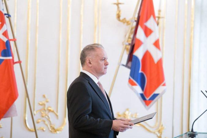 Prezident Kiska odštartuje sériu rozlúčkových návštev v Bruseli, prevezme si aj cenu za ľudské práva