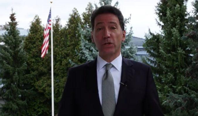 Video: USA nechcú na Slovensku vojenskú základňu ani svojich vojakov, vyhlásil veľvyslanec Sterling