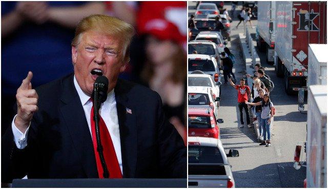 Trump varuje pred zatvorením hraníc s Mexikom pre prílev migrantov, hrozia však negatívne následky