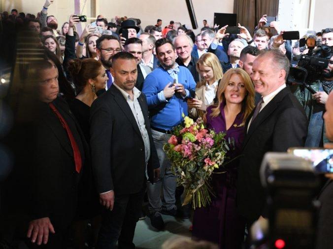 Kiska je nesmierne hrdý na to, akú prezidentku si Slovensko zvolilo