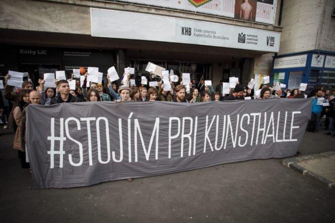 Výzvy umelcov na zachovanie Kunsthalle Bratislava sú zavádzajúce, myslí si ministerstvo kultúry