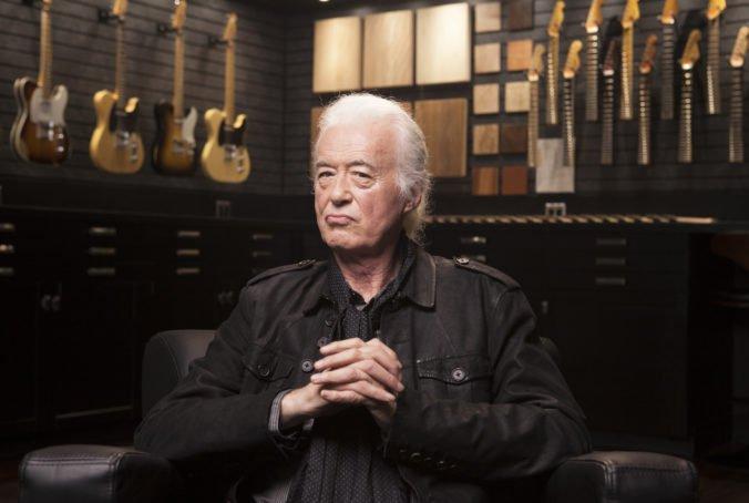 Jimmy Page mi dal ako 16-ročnému kokaín, prezradil Jason Bonham