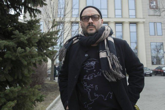 Súd v Moskve nariadil nové vyšetrovanie prípadu režiséra Serebrennikova