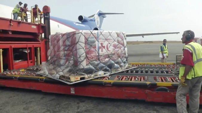 Do Venezuely prišla dodávka humanitárnej pomoci od Červeného kríža, znamená tiché uznanie krízy